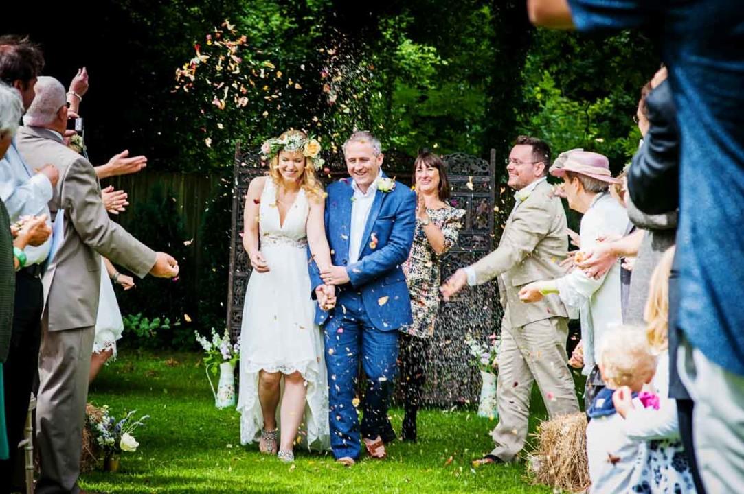 Lea & Craig's Devon wedding.