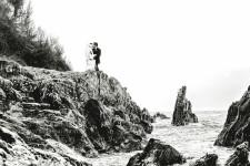 Polhawn Fort Wedding, Devon Wedding Photographer