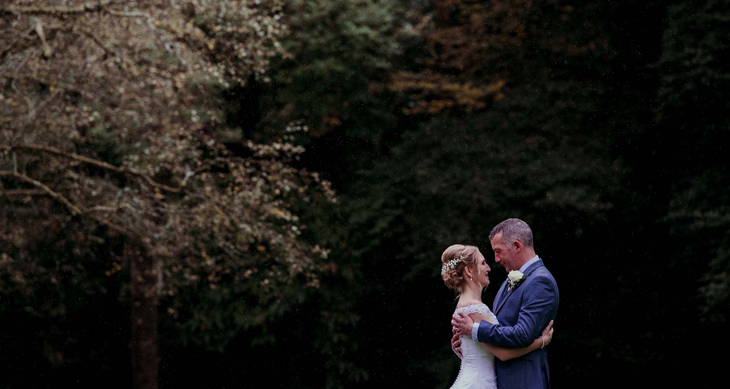 bride and groom in devon, elopement wedding in devon