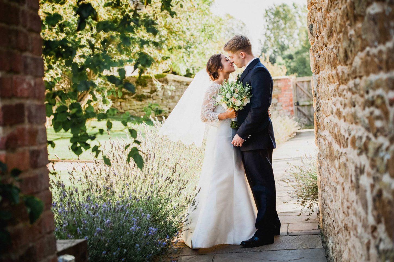 bride and groom at dodford manor wedding, northamptonshire wedding photographer