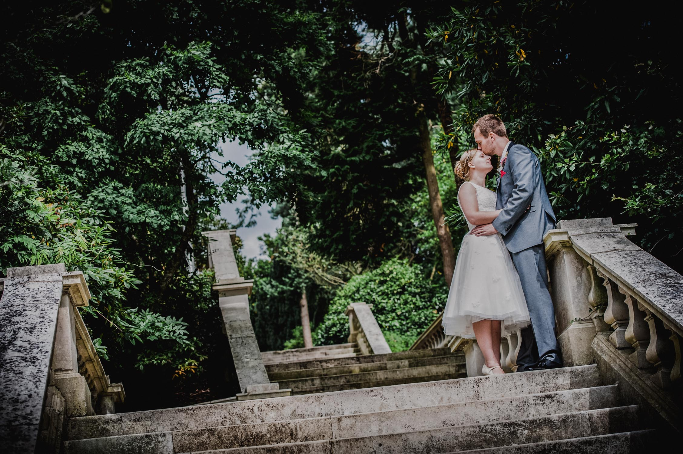 Reed hall wedding photographer in Exeter capturing intimate bride and groom images. Devon wedding photography