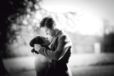 Fawsley Hall Park pre-wedding shoot, Northamptonshire wedding photographer