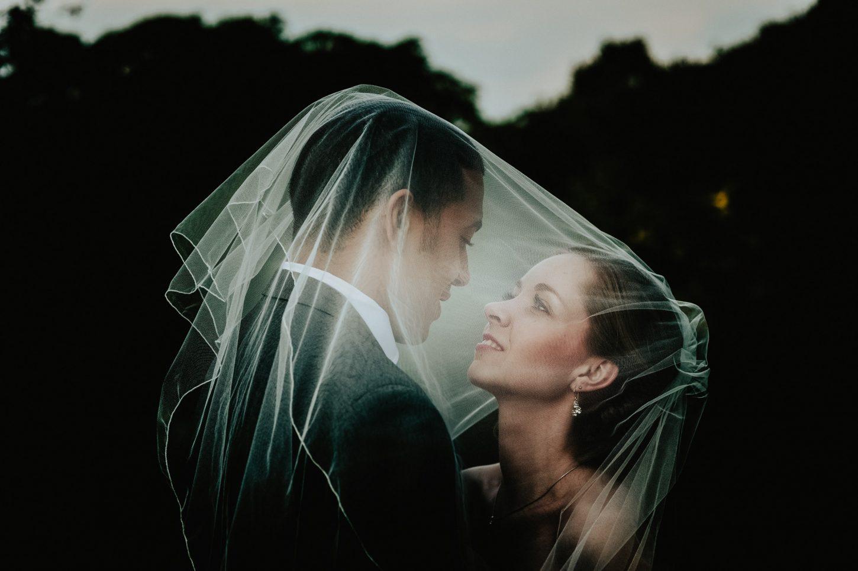 Mount Edgecumbe bride and groom intimate wedding portraits at Mount Edgecumbe in Cornwall, Cornwall wedding photography